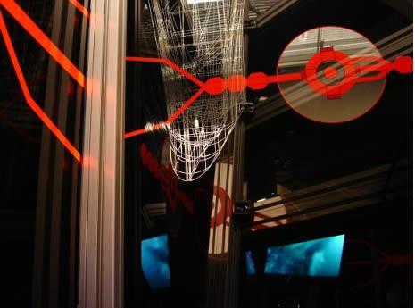 """""""Problem vožnje svemirom"""" Hermana Potočnika  u izvedbi Labin Art Expressa u Art radionici Lazareti (Dubrovnik)"""