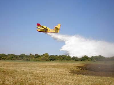 Tijekom ljetne požarne sezone na području Labina najmanje intervencija u Istri i jedno gašenje kanaderom
