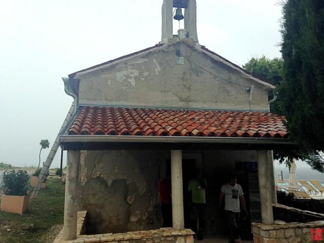 Obnovljena crkvica u Svetoj Marini