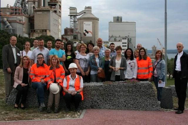 Sudionici konferencije Vizija gospodarenja otpadom posjetili tvornicu cementa u Koromačnu