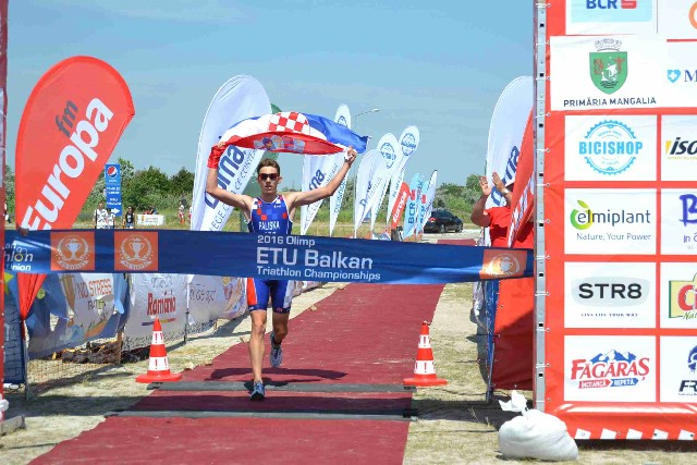 Luka Paliska osvojio zlato na Balkanskom prvenstu u triatlonu