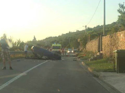 U prometnoj nesreći u Stanišovima na području općine Raša smrtno stradao Z.G.  (56)