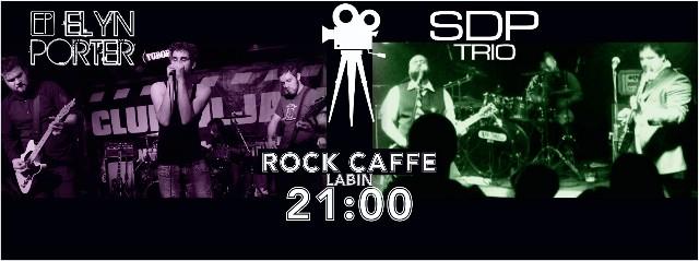 Promocija spotova grupa Elyn Porter i SDP Trio u labinskom Rock caffeu