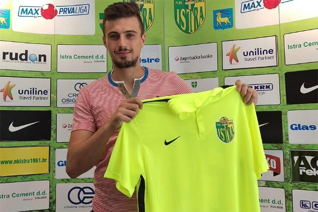 Valentino Stepčić potpisao za pulskog prvoligaša