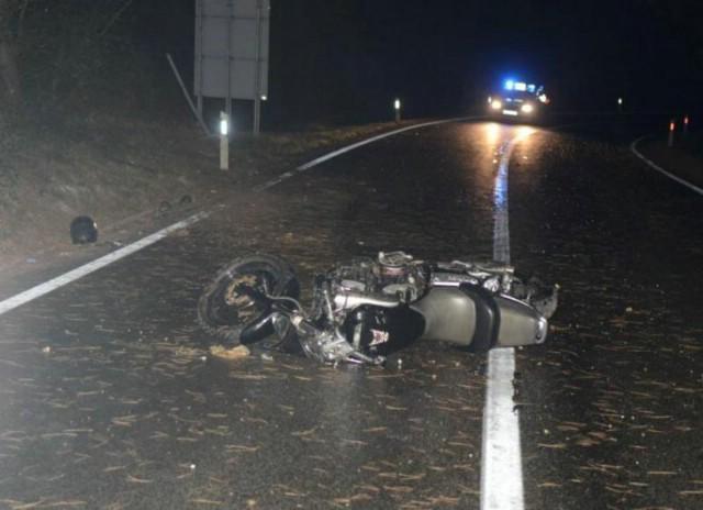 Njemački motociklist (53) poginuo na cesti Vozilići - Labin