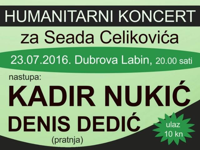 Na Dubrovi humanitarni koncert za Seada Čelikovića