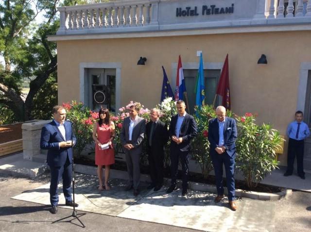 Ministar Kliman otvorio prvi hotel u Labinu