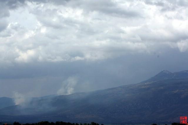 Lokaliziran požar na padinama Učke
