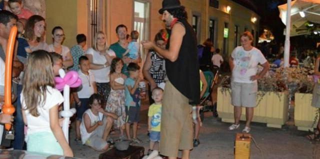 Noć uličnih zabavljača i svirača u Rapcu