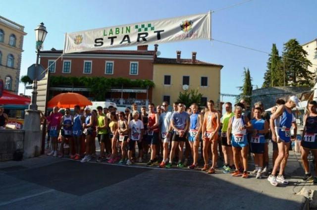 20. atletska utrka Grada Labina u subotu 13. kolovoza