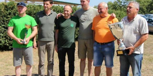 Aleks Verbanac (LU Labin) drugi na županijskom natjecanju u gađanju glinenih golubova