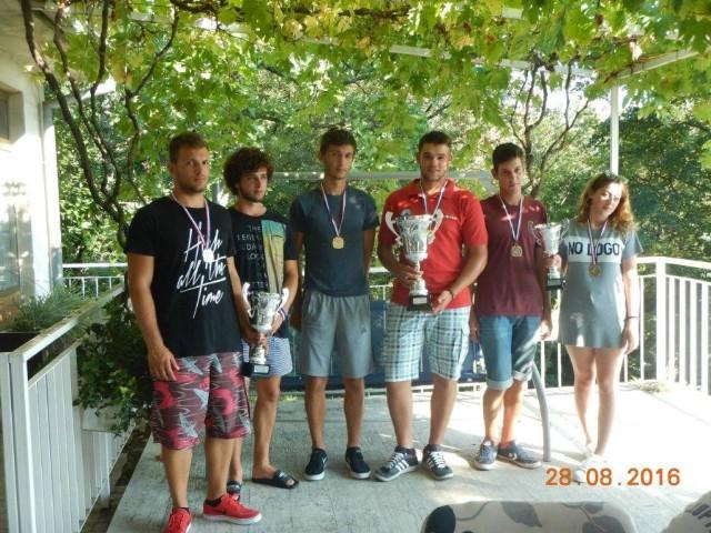 Na međužupanijskom natjecanju u ribolovu u kategoriji U21 štap brodica Mileta i Štucin ekipno drugi