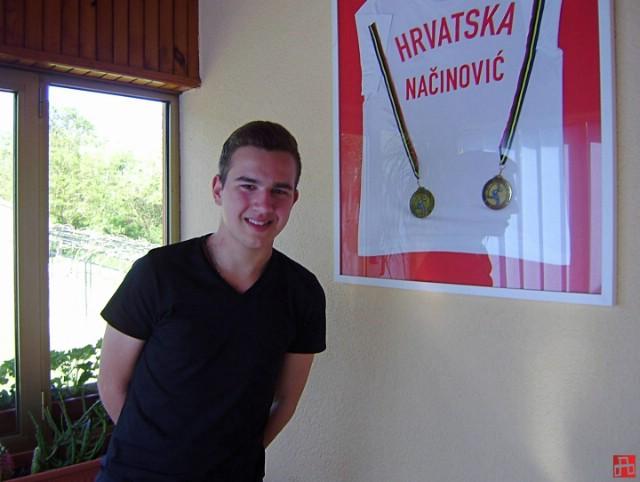 Mateo Načinović dobitnik nagrade Dražen Petrović