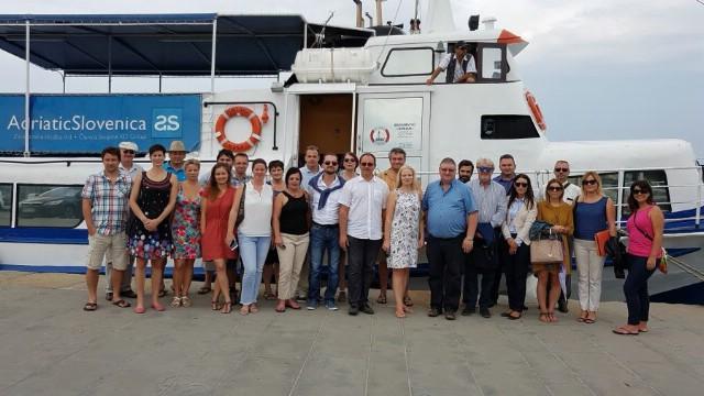 LAGUR `Alba` Labin jedna od potpisnica Sporazuma između hrvatskih, slovenskih i talijanskih Lokalnih akcijskih grupa u ribarstvu