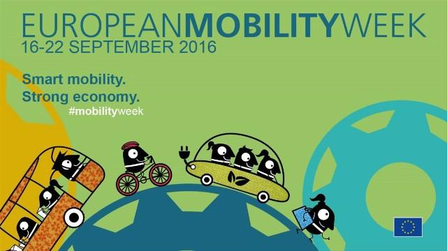 U petak započinje Europski tjedan mobilnosti 16.-22.09.2016. PROGRAM