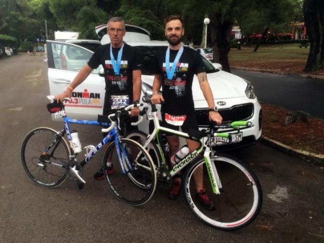 Željezni triatlonci uspješno prkosili lošem vremenu