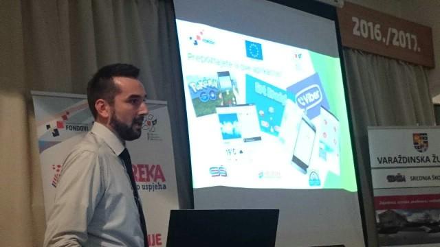 Zahvaljujući europskim novcen srednjoškolci u Labinu i Ivancu mogu slušati predmete: statistiku, eksperimentalnu fiziku, digitalnu kartografiju te razvoj mobilnih aplikacija