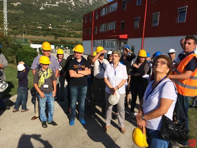 Termoelektranu Plomin posjetilo 300-tinjak građana