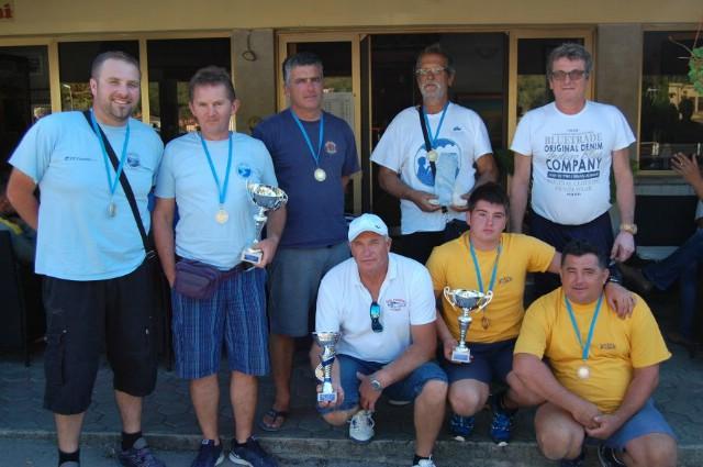 Na natjecanju u ribolovu s brodice `Trofej Galeb 2016` najbolja ekipa domaćina Galeb 3
