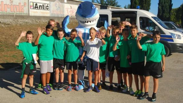Gradski stadion: NK Rudar-NK Rijeka 04.10.2016. - Za osnovnoškolce Labinštine besplatno učlanjenje u HNK Rijeka