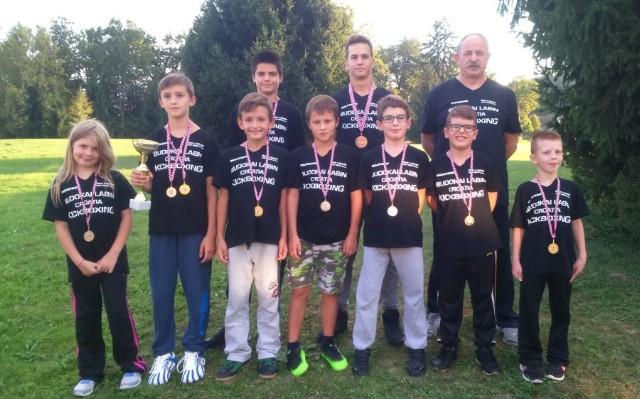 Labinjanima  10  medalja i 2 pehara na kickboxing natjecanju u Topuskom
