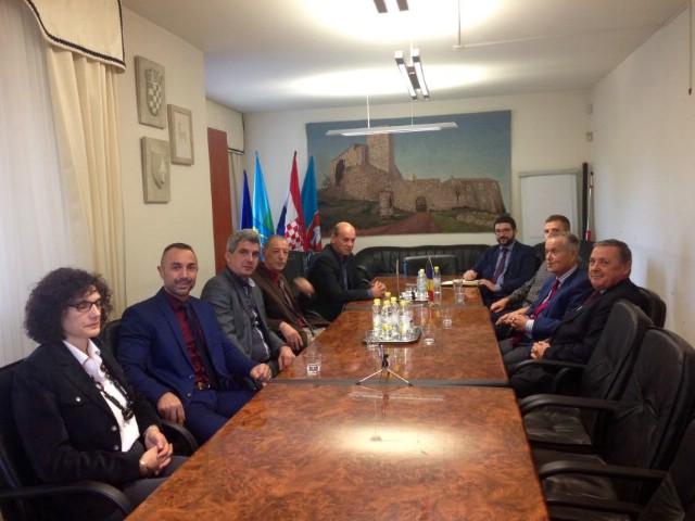 Posjet Općini Kršan ambasadora Rumunjske u RH