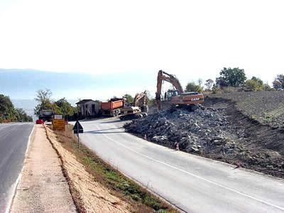Rekonstrukcija raskrižja Most Pićan