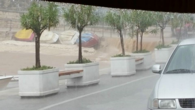 Ekstremno obilna kiša na istoku Istre, bujice u Rapcu
