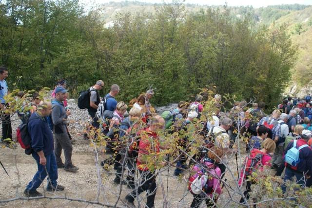 I PD Skitaci planinarili ''Franetovim putem'' za 140. godina organiziranog planinarstva u Pazinu i Istri