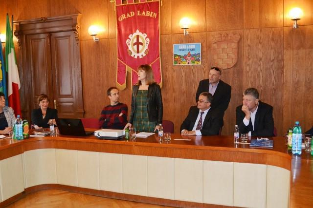 Grad Labin: Održan prijem za izaslanstvo iz Bugarske