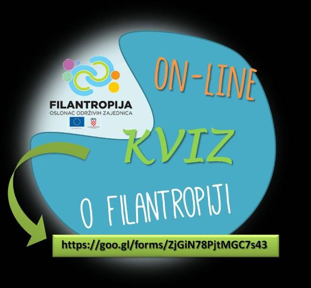 Poziv učenicima osnovnih i srednjih škola za sudjelovanje u On-line KVIZU o filantropiji