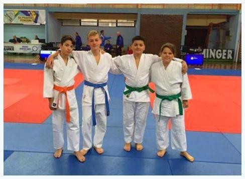 Judo klub Meto Labin nastupio na 5. Međunarodnom kupu `UNA` u Bihaću