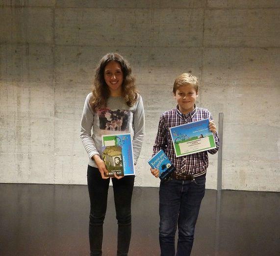 Dino Peruško i Elin Franković pobjednici su gradske razine Natjecanja u čitanju naglas
