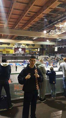 Marino Faraguna zaustavljen u borbi za  medalju na Prvenstvu Europe u  kickboxingu u Mariboru