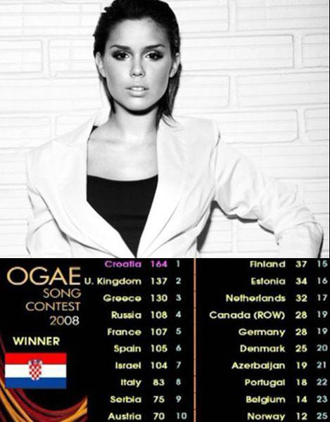 """Franka Batelić sa pjesmom """"Ruža u kamenu"""" pobijedila na OGAE Song contestu (Audio)"""