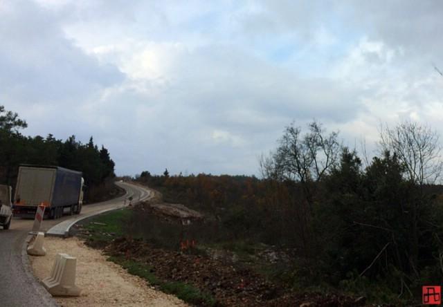 Idućeg tjedna zatvara se dio prometnice od Kršana do Vozilići