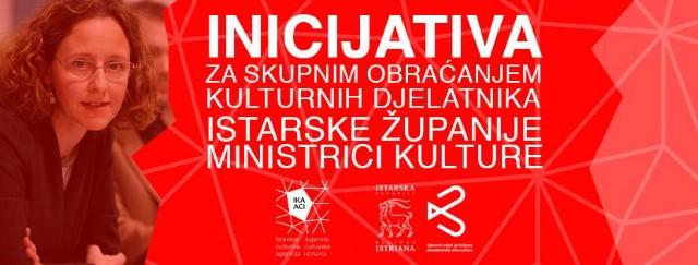 Pismo istarskih kulturnjaka ministrici kulture