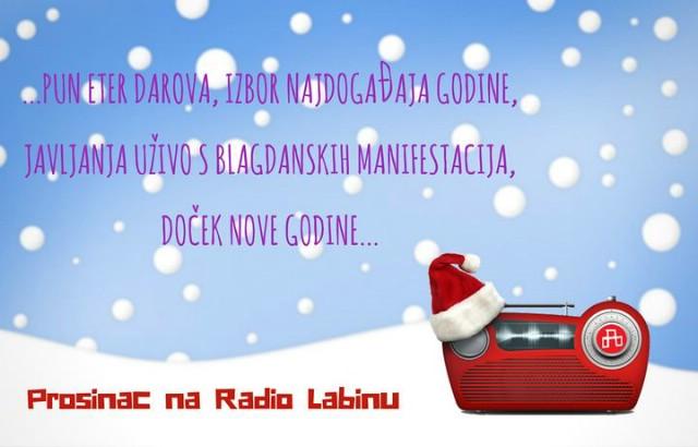 Prosinac na Radio Labinu