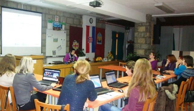 U Srednjoj školi Mate Blažine u Labinu održano međužupanijsko stručno vijeće Programa GLOBE