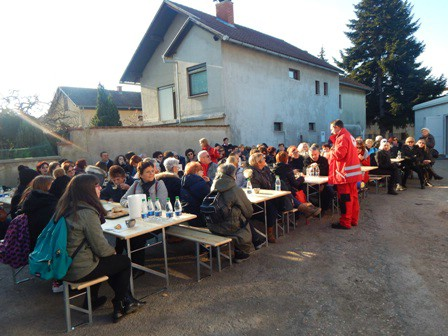 Izlet volontera labinskog Crvenog križa u Čakovec