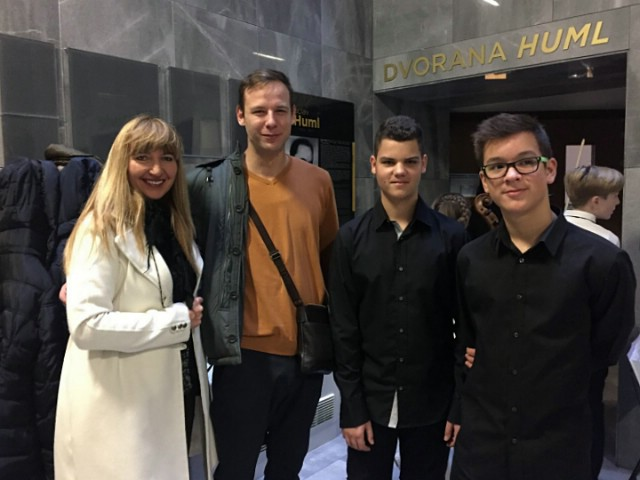 Duo udaraljkaša – Erik Greblo i Filip Koraca sovojio treću nagradu na državnom natjecanju