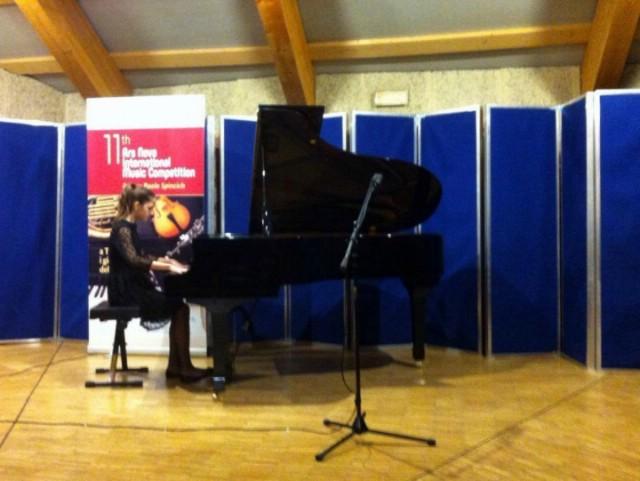Mlade klaviristice Nataša Mišon i Veronika Pervan brončane na 11. Međunarodnom natjecanju mladih glazbenika Ars nova u Trstu