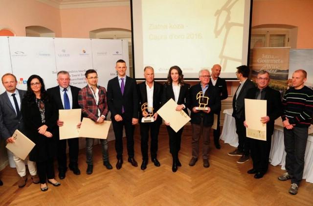 Nagrade Zlatna koza - Capra d''oro 2016. - Hotel Peteani Labin laureat u kategoriji turistički proizvod