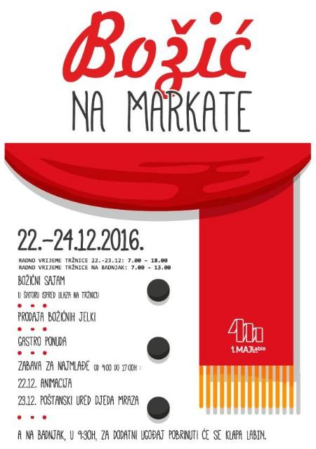 Labin: Božić na markate (22.-24.12.)