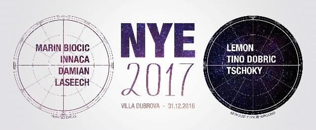 NYE 2017 - Villa Dubrova - Labin / 2 floors