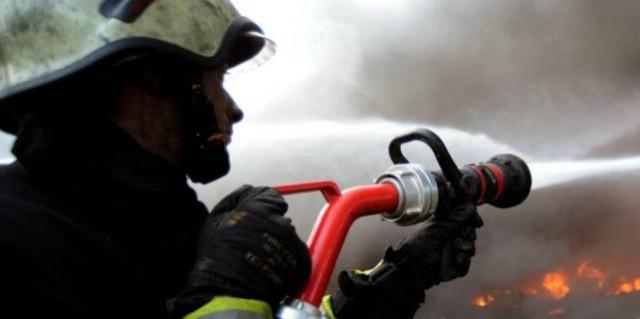 Požar kotlovnice u Topidu