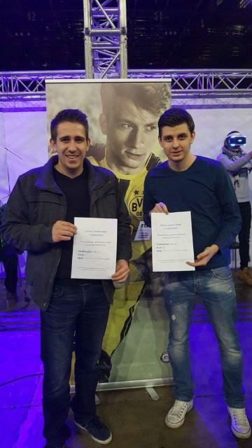 Dvojac s labinštine osvojio turnir FIFA17 u Zagrebu