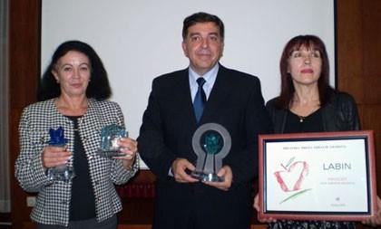 Nagrade Zeleni i Plavi cvijet 2008. pripadaju građanima Labina i Rapca