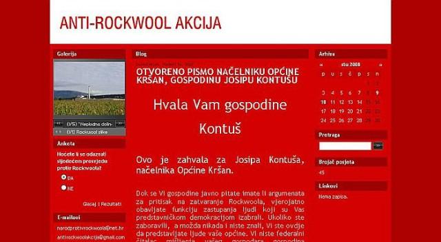 Mladi Općine Kršan započeli borbu protiv Rockwoola blogom i otvorenim pismom načelniku Josipu Kontušu