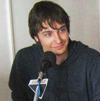 """Valentino Blasina s radom """"Izrada i primjena ozon detektora"""" u finalu Vip Eureke 2008."""